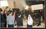 北京市教委学生装宣传片摄影棚宣传片拍摄制作现场花絮